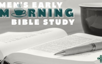 Men's Early Morning Bible Study